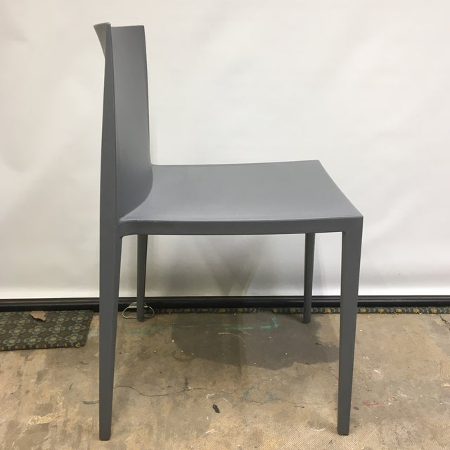 Modernistic Cazzaniga Stackable Chairs - Set of 6 For Sale - Image 4 of 13