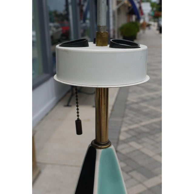 Lightolier Pair of Gerald Thurston Fin Lamps for Lightolier For Sale - Image 4 of 5