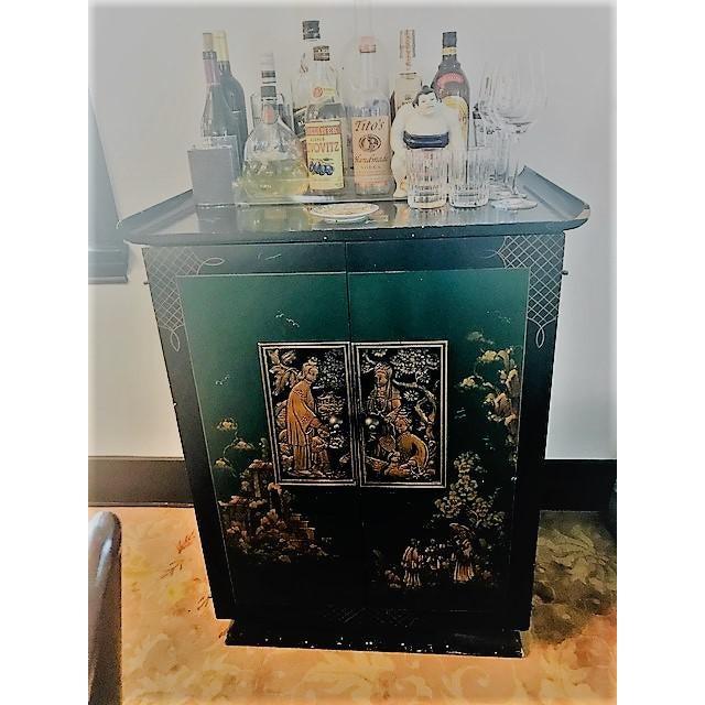 1930s 1930's Vintage Bar Cabinet For Sale - Image 5 of 8