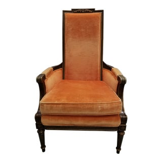 1920s Traditional Hibriten Eastlake Style Chair For Sale