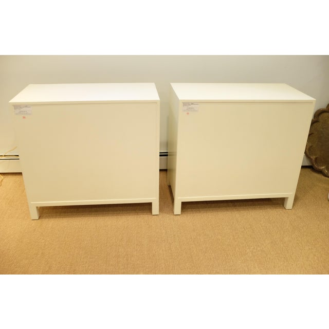 Lillian August Lillian August Cream & Gold Chests/Nightstands - a Pair For Sale - Image 4 of 12