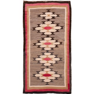 """Beautiful Navajo Scatter Rug, 2'7"""" X 4'6"""" For Sale"""