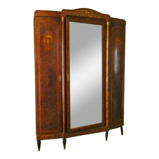 18th Century Louis VI Chateau Armoire For Sale