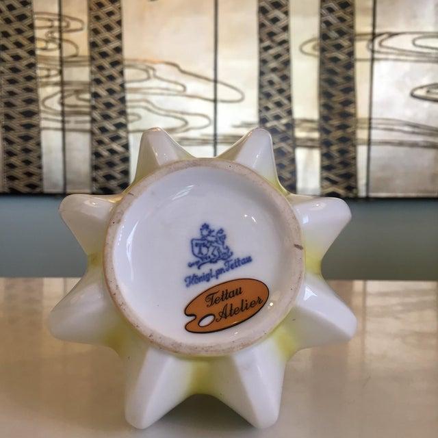 1960s German Glazed Ceramic Bud Vase For Sale - Image 5 of 7