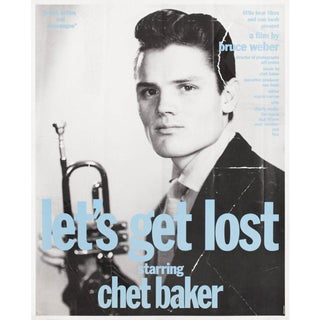 Let's Get Lost 1989 U.S. Mini Film Poster For Sale