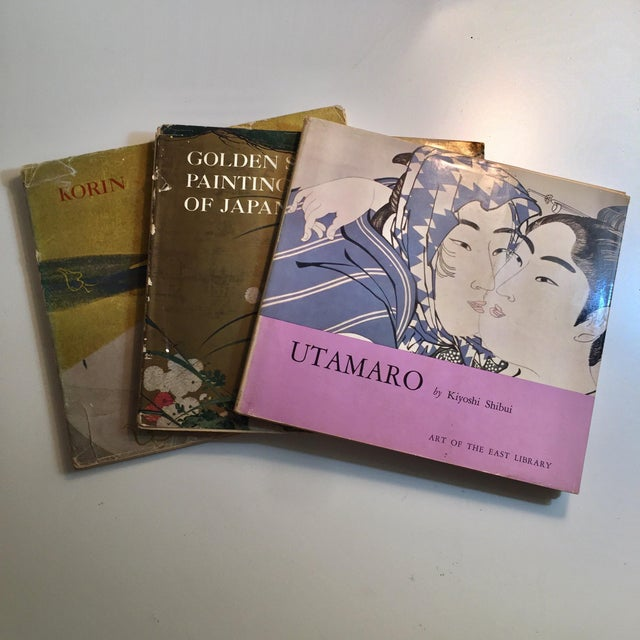 This is a set of three vintage books from the Art of the East Library, Crown Publishers, New York. Printed in Japan....