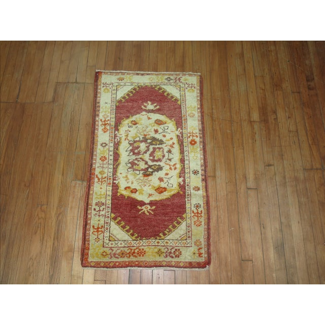 Vintage Turkish Oushak Rug - 2′2″ × 3′11″ - Image 3 of 3