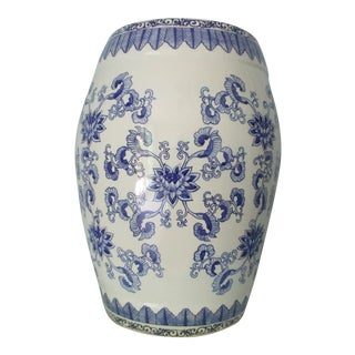 20th Century Chinoiserie Garden Stool For Sale