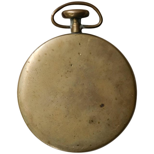 Pocket Watch Paperweight by Carl Auböck For Sale