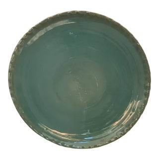 Glazed Blue Artisan Plate