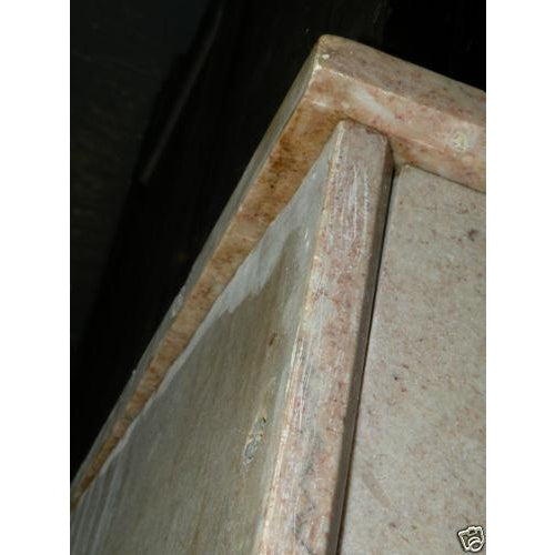 Antique Eastlake Style Marble Top Dry Sink Table - Image 9 of 9