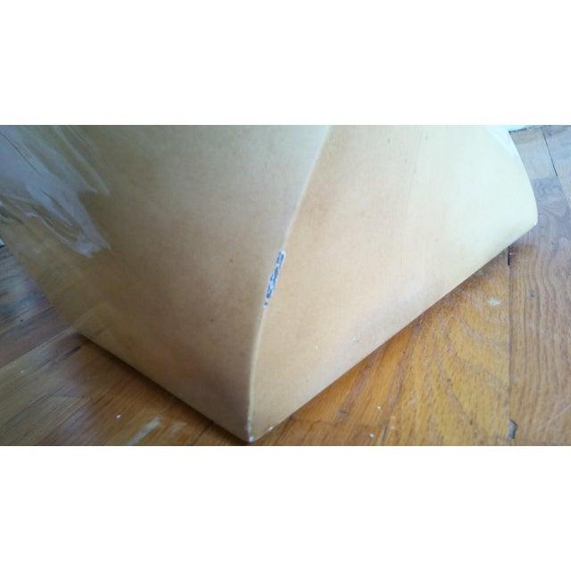 Karl Springer Modern Goatskin Twist Pedestal Table For Sale - Image 4 of 8