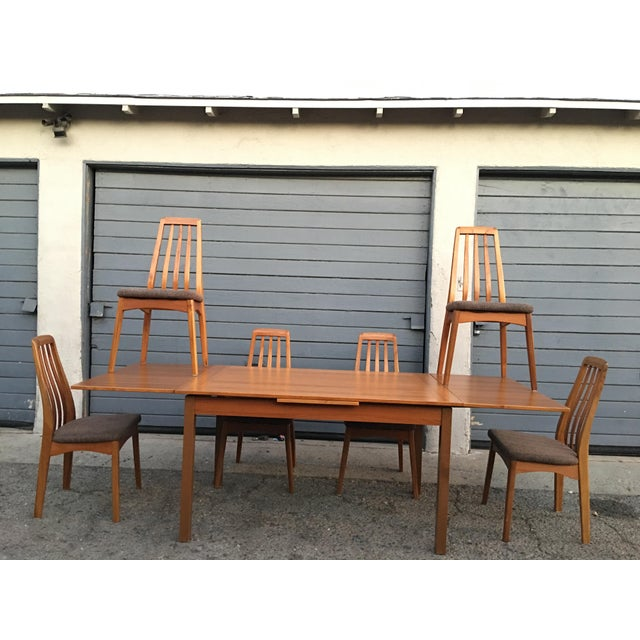 Benny Linden Design Mid-Century Dining Table & 6 Chairs For Sale - Image 11 of 11