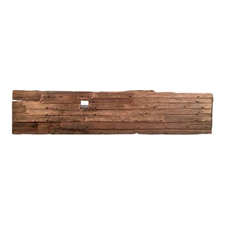 18th Century Architectural Clapboard Fragment For Sale