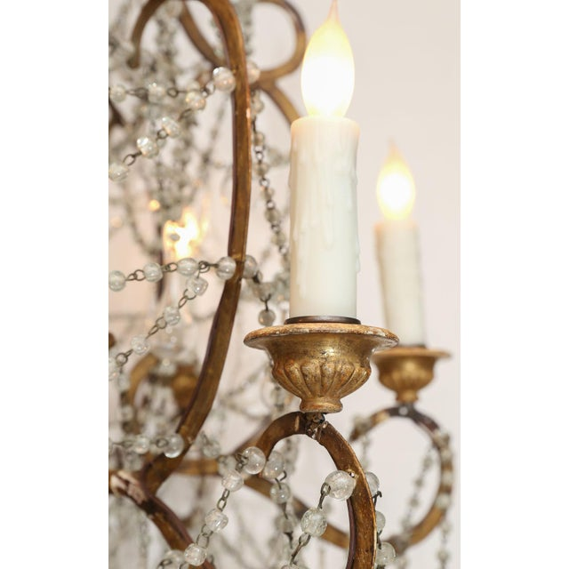 Early 20th Century Italian Chandelier For Sale In Houston - Image 6 of 8
