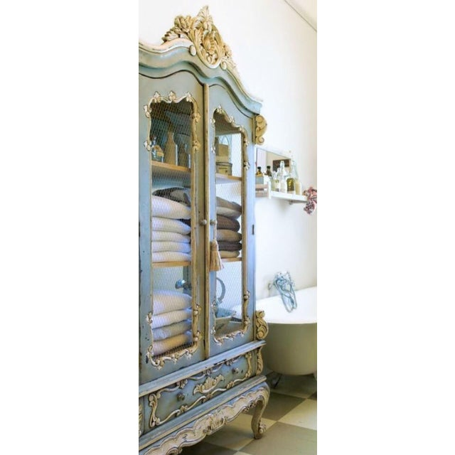 Vintage French Louis XV Style Cabinet - Image 5 of 8
