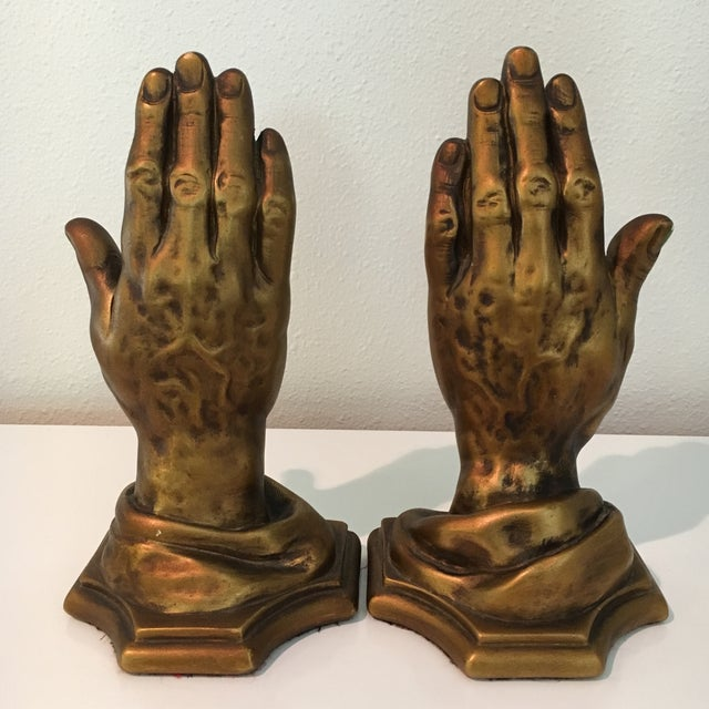 Mid-Century Roman Art Co. Robia Porcelain Hands - A Pair For Sale - Image 4 of 11