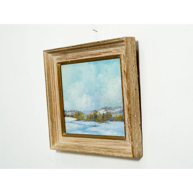 Paint Oil on Board of Landscape For Sale - Image 7 of 9