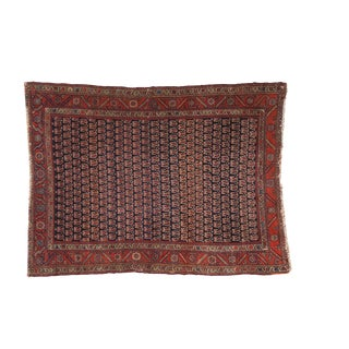 """Antique Fine Malayer Rug - 4'3"""" x 5'7"""" For Sale"""