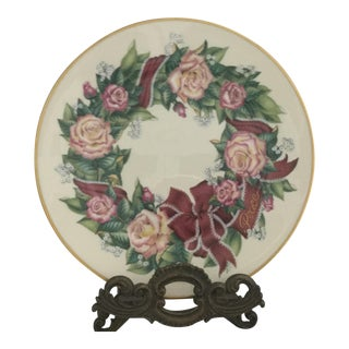 Lenox Presents Sentiments of Roses Collection Plate For Sale