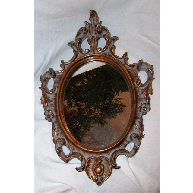Antique Carved Mirror - Image 2 of 5