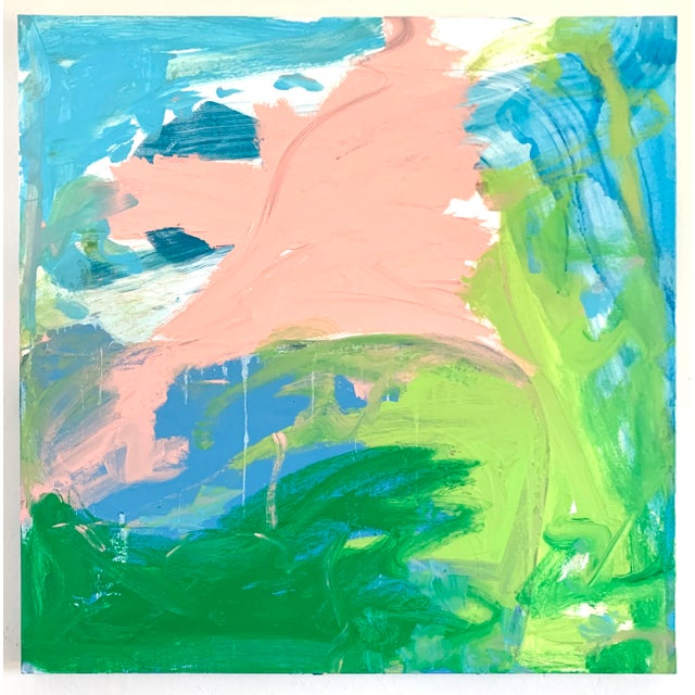 2020s Acrylic on Canvas Landscape by Matthew Izzo For Sale - Image 5 of 5