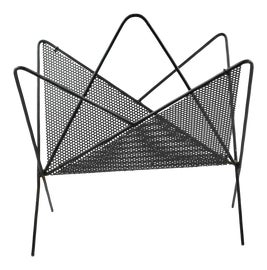 Image of Black Magazine Racks