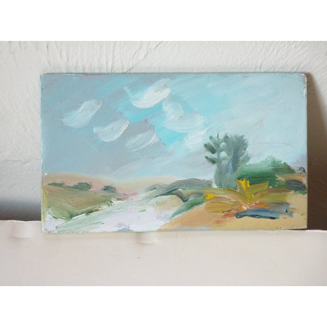 Late 20th Century Late 20th Century Susan Scott Oil Sketch Paintings - Set of 3 For Sale - Image 5 of 7