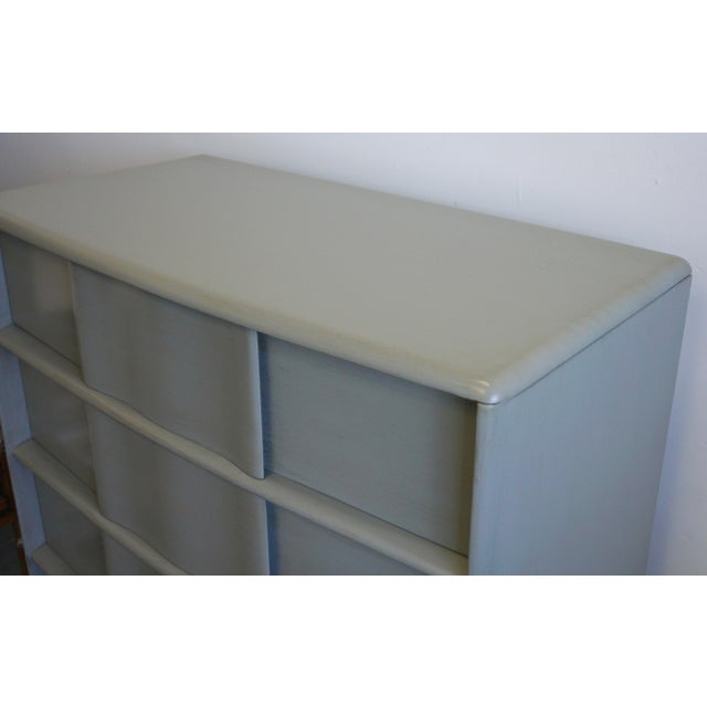 Wood Heywood Wakefield Chest of Drawers For Sale - Image 7 of 7