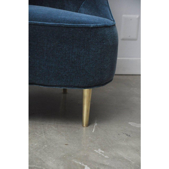 """Dunbar """"Teardrop"""" Chair by Edward Wormley For Sale In Chicago - Image 6 of 7"""