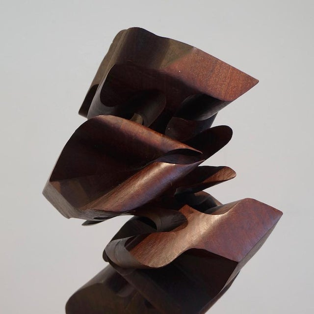 Wood 1970s Sculpture by Jerry K. Deasy For Sale - Image 7 of 10