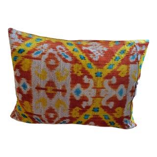 Tribal Ikat Velvet Pillow