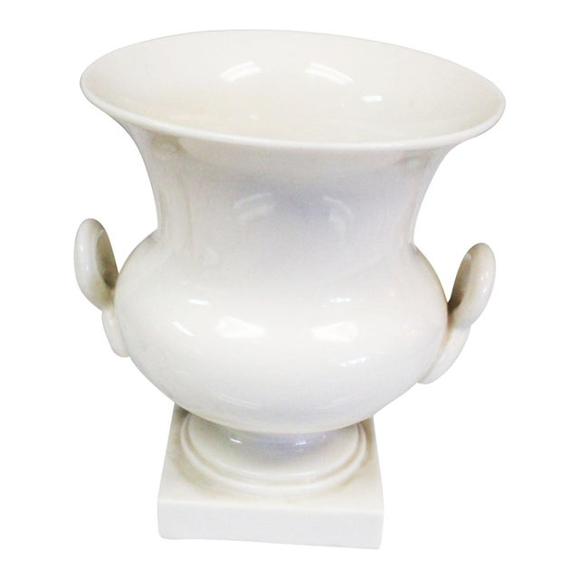 Lenox Traditional White Urn For Sale In New York - Image 6 of 6