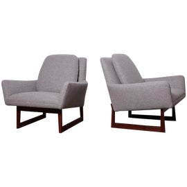 Image of Jens Risom Club Chairs