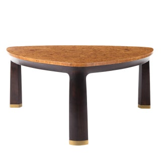 1970s Mid-Century Modern Edward Wormley Dunbar Coffee Table For Sale