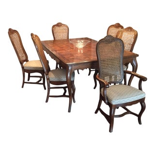 Hickory Oak Expandable Dining Set