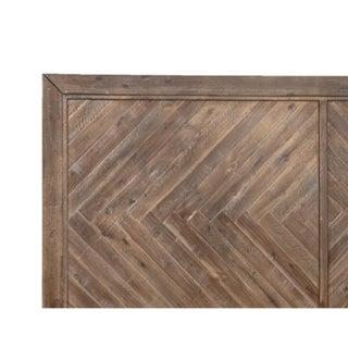 Herringbone Medium Wood Eastern King Bed Preview