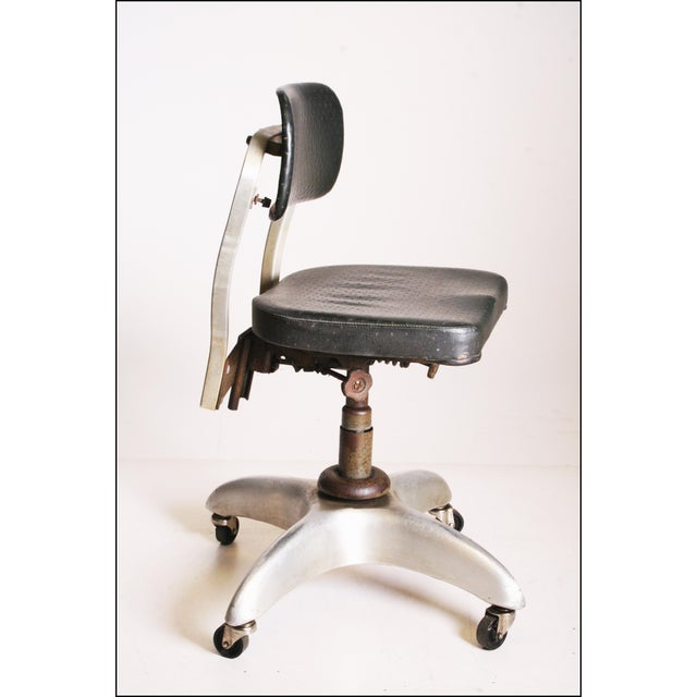 Vintage Industrial Swivel Office Chair by Goodform - Image 4 of 11