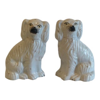 19th Century Victorian Staffordshire Dogs - a Pair For Sale
