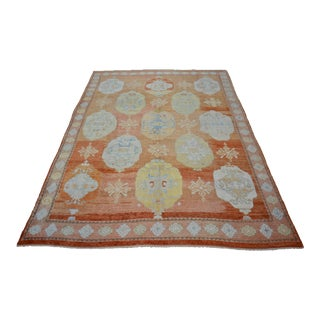 Turkish Contemporary Handmade Wool Rug For Sale
