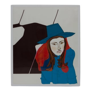 """Si Don Juan Fur Mujer"" Drawing by Gabriela Valenzuela-Hirsch For Sale"