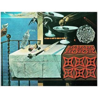 """1957 Salvador Dalí Original """"Nature Morte Vivante"""" Period Lithograph Print For Sale"""