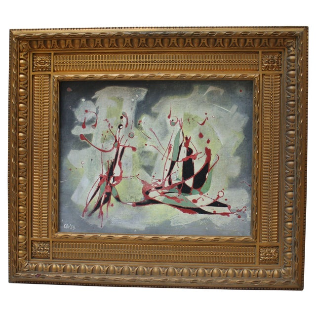 Carl A. Von Volborth Abstract Painting For Sale