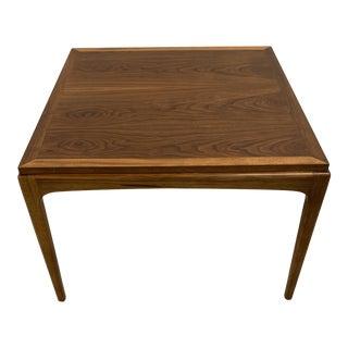1962 Lane Rhythm Walnut End Table For Sale