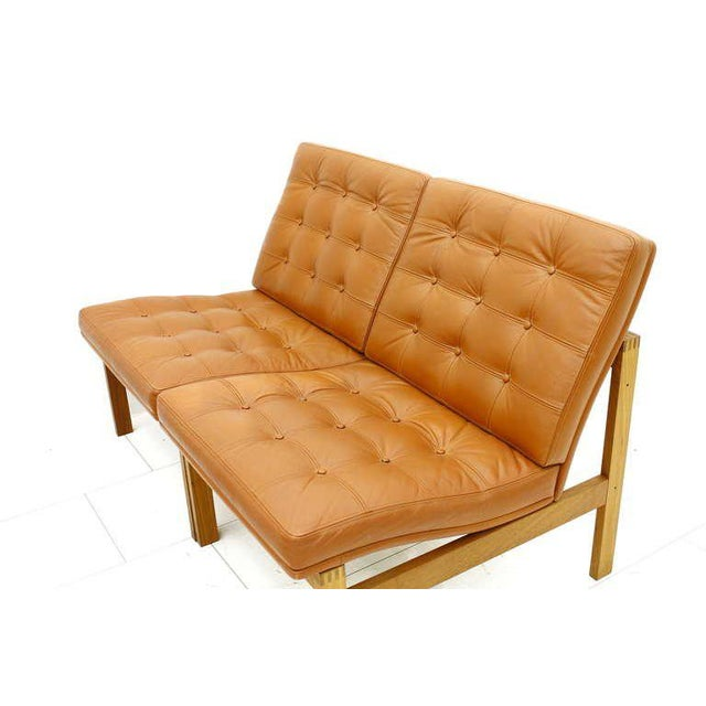 1960s Torben Lind and Ole Gjerlov Modular Seating Group Chairs Sofa for France & Son For Sale - Image 5 of 9