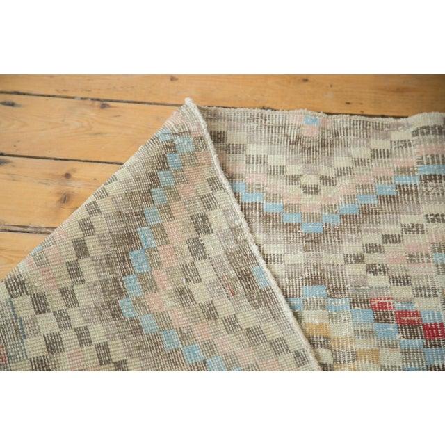 "Vintage Oushak Distressed Square Rug - 5'4"" X 5'5"" - Image 5 of 7"