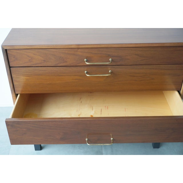 Jens Risom Walnut Dresser - Image 7 of 7
