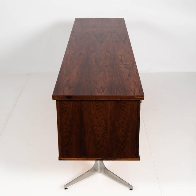 Mid 20th Century Midcentury Rosewood Credenza For Sale - Image 5 of 11