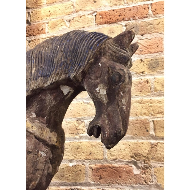 Chinese Antique Horse Sculpture - Image 6 of 7