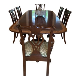 Council Dining Table & Chairs For Sale